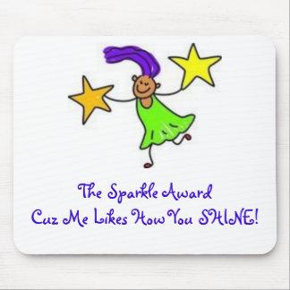 Mom's Mousepad: Sparkle Award