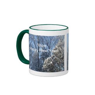 Mom's New Year Coffee Mugs