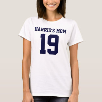 MOMS NUMBER Ladies Baby Doll (Fitted) T-Shirt