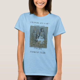 MOMS OF 4, children are a gift from God T-Shirt