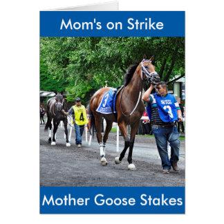 Mom's on Strike Card