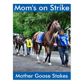 Mom's on Strike Postcard