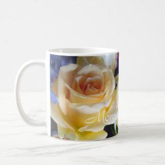 Mom's Peach Rose Mug