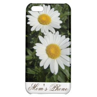 Mom's Phone Daisies Glossy Finish iPhone 5C Case