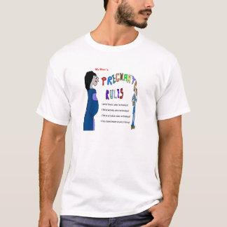 Moms Pregnant Rules T-Shirt