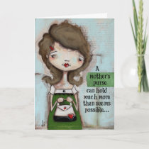 Mom's Purse - Mother's Day Card