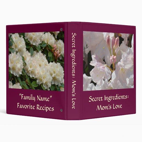 Mom's Recipe book Secret Ingredients: Mom's Love Binder