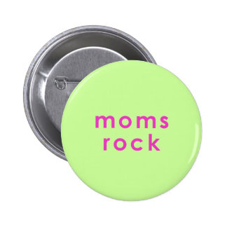 moms rock button