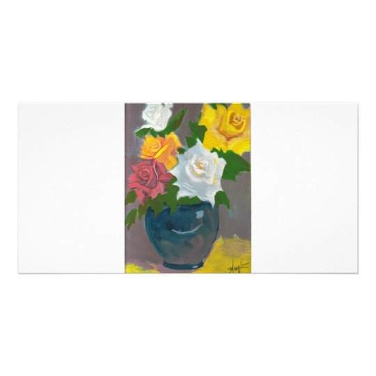 Mom's Roses Card