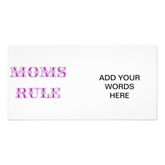 Moms rule card