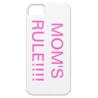 mom's rule!!! iPhone 5 covers