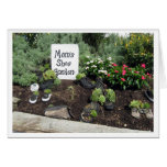 Mom's Shoe Garden Greeting Card