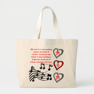 Mom's Song Canvas Bags