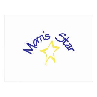 Mom's Star Postcard