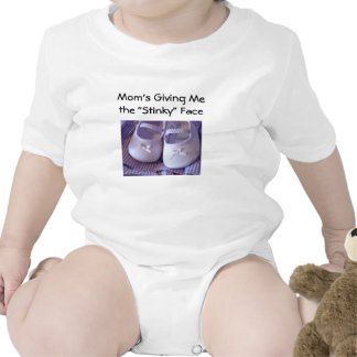 Mom's Stinky Baby Onsie Baby's Shoes Onsies Humor Rompers