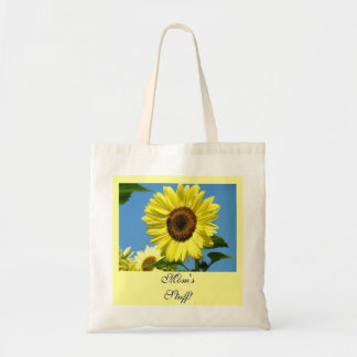 Mom's Stuff! Tote Bag gifts Sunflowers Garden bags