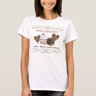 Mom's Sweeties, Personalized Tee Shirt