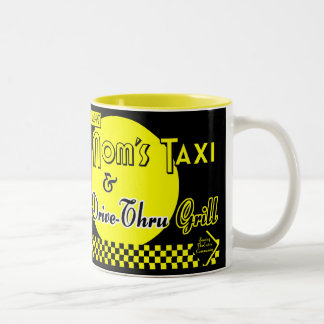 Moms Taxi and Drive-Thru Grill Coffee Mug