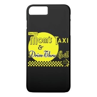 Moms Taxi and Drive-Thru Grill Retro iPhone Case