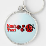 Mom's Taxi Keychain