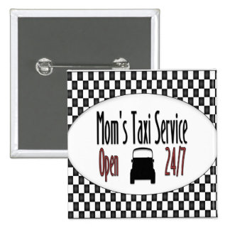 Mom's Taxi Service Pin