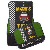 Mom's Taxi Service Car Mats