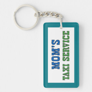 Moms Taxi Service Keychain