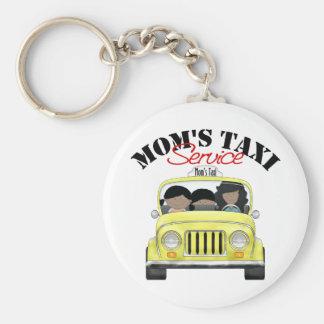 Mom's Taxi Service Keychain