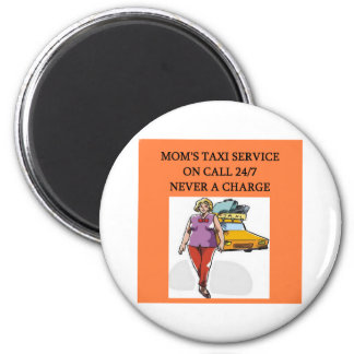 mom's taxi service refrigerator magnets