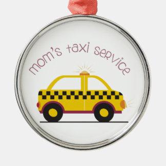 Moms Taxi Service Metal Ornament