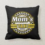 Mom's Taxi Service Pillows