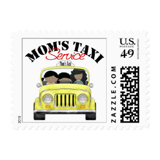 Mom's Taxi Service Postage