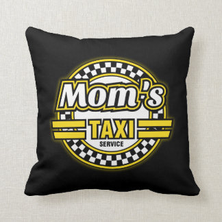Mom's Taxi Service Throw Pillow
