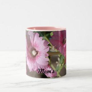 Mom's Tea Cup Two-Tone Coffee Mug