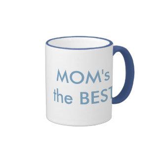 MOM's the BEST Ringer Mug