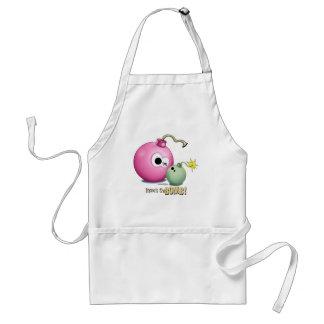 Mom's the Bomb apron