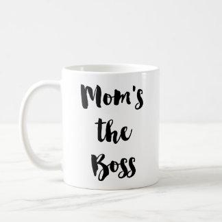 Mom's the Boss - Boss Lady Coffee Tea Mug