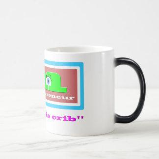 MOMTREPRENEUR - I run this crib - Morphing Coffee Magic Mug