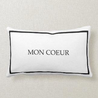 "Mon Coeur Guest Bedroom Throw Pillow ""My Heart"""