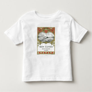 Mon Cuvier Wine LabelEurope Toddler T-shirt