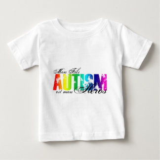 autism hero t shirts shirt designs zazzle. Black Bedroom Furniture Sets. Home Design Ideas