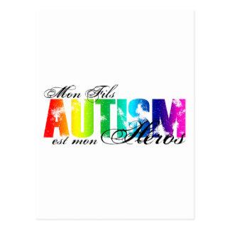 Mon Fils heros - Autism Postcard
