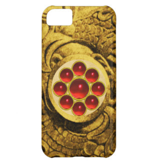 MON GEM red Cover For iPhone 5C