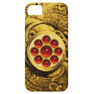 MON GEM red iPhone SE/5/5s Case