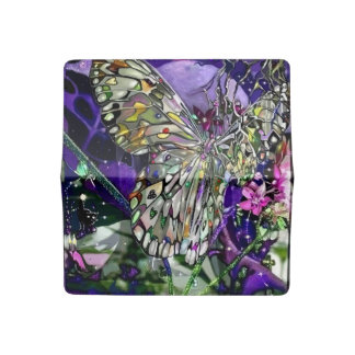 Mon Influence Butterfly Checkbook Cover