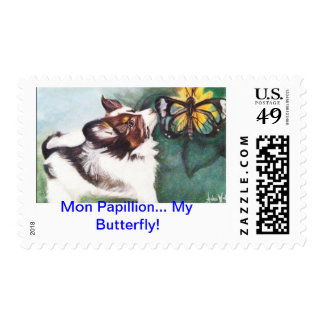 Mon Papillion...My Butterfly! Postage Stamp