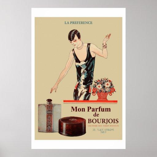 Mon parfum Bourjois Print