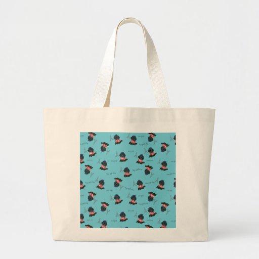 Mon Petit Chou Chou Black Poodle Puppy Bag