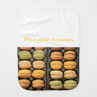 "Mon petit macaron by ""ProvenceProvence"" Baby Burp Cloth"