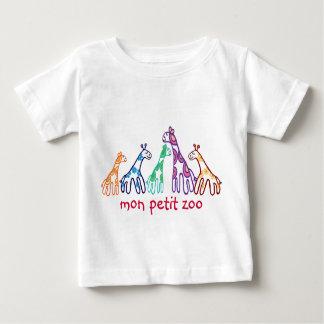 mon petit zoo infant t-shirt
